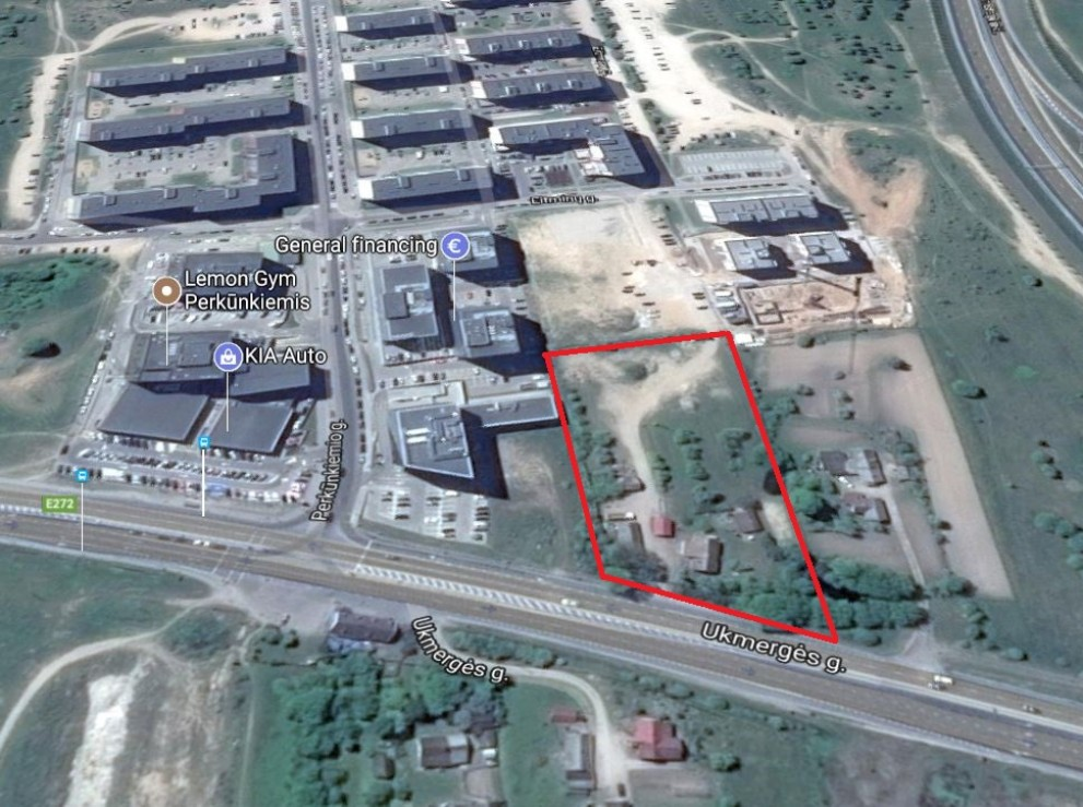 apartment building, commercial purpose vacant land