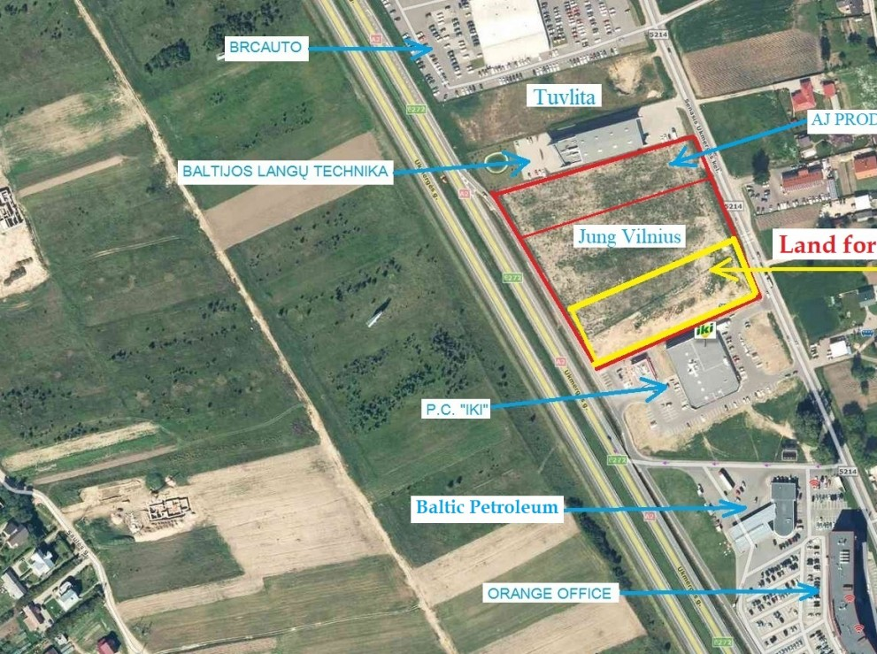 For sale the last part of the plot - 0.62ha