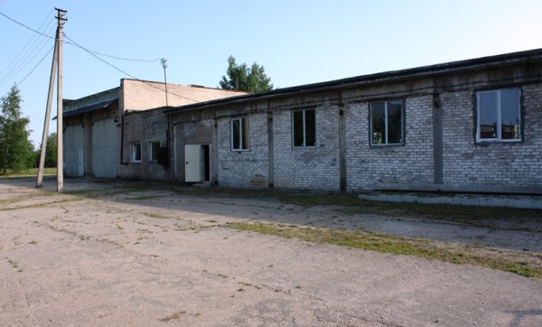 Manufacturing premises at 45C Zibalu st, Širvintos