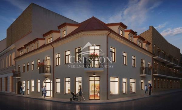 Parduodamas butas Plačioji g., Senamiestyje, Vilniuje, 68,38 kv.m ploto, 3 kambariai