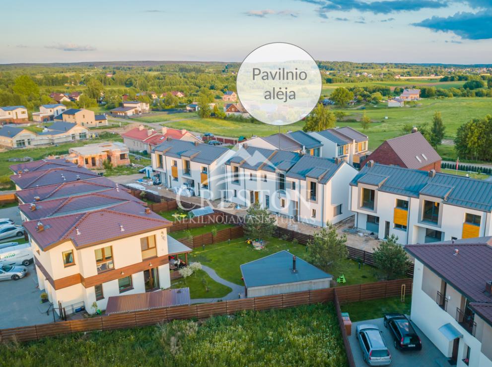 Parduodamas namas Vlado Mirono g., Pavilnyje, Vilniuje, 107 kv.m ploto, 2 aukštai