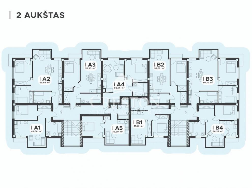 Parduodamas butas Žirmūnų g., Žirmūnuose, Vilniuje, 88,22 kv.m ploto, 5 kambariai